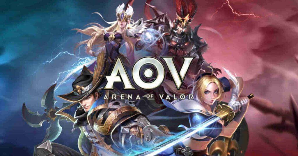 Garena arena of valor game android cover